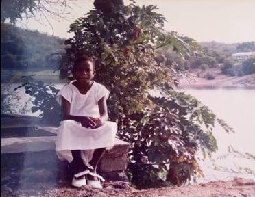 Kasamba as a child