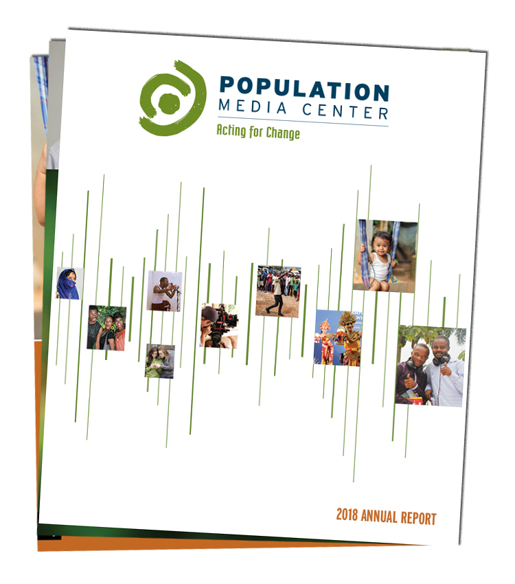 Population Media Center's 2018 annual report download