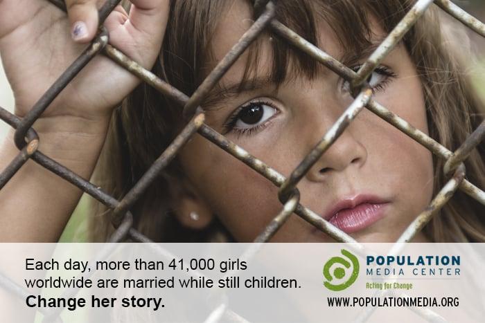 41k girls each day get married while still children