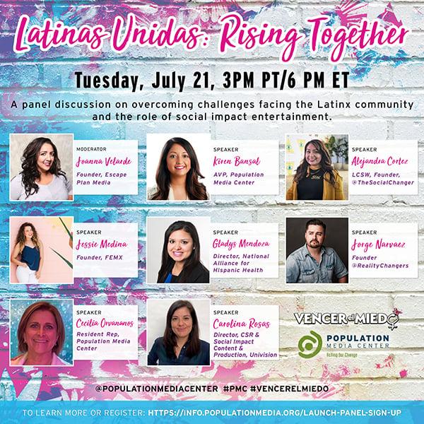 Latinas Unidas Panelists