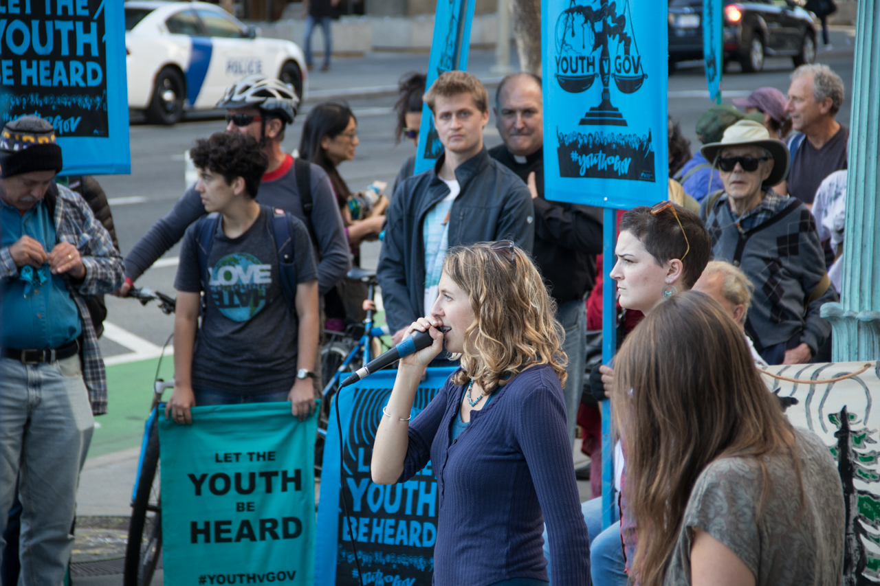 Climate crisis youth protesters