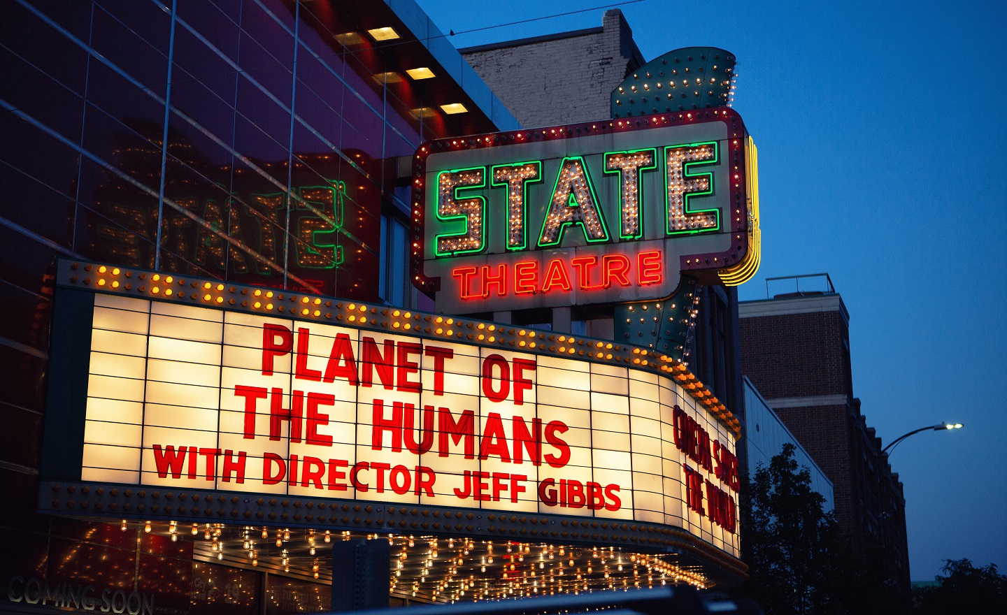 Planet of Humans Marquee